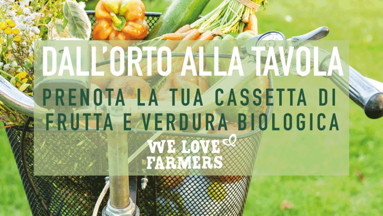 Prenota la tua cassetta di frutta e verdura biologica